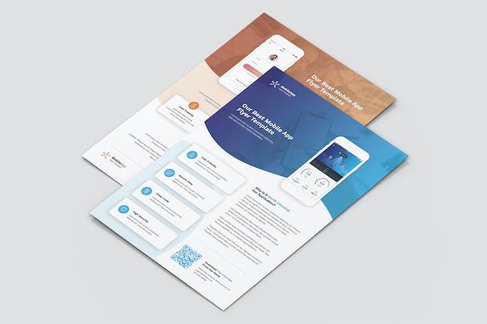Thumbnail for Flyer – Mobile App