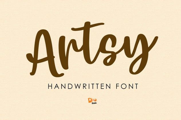 Artsy - Handwritten Font - product preview 9
