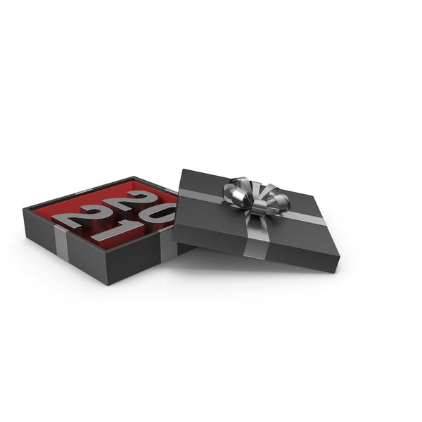 Thumbnail for Silver Symbol 2021 In Black Gift Box with Silver Ribbon