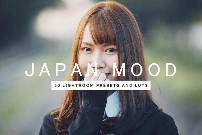 Thumbnail for 50 LUTs presets Japan Mood Lightroom