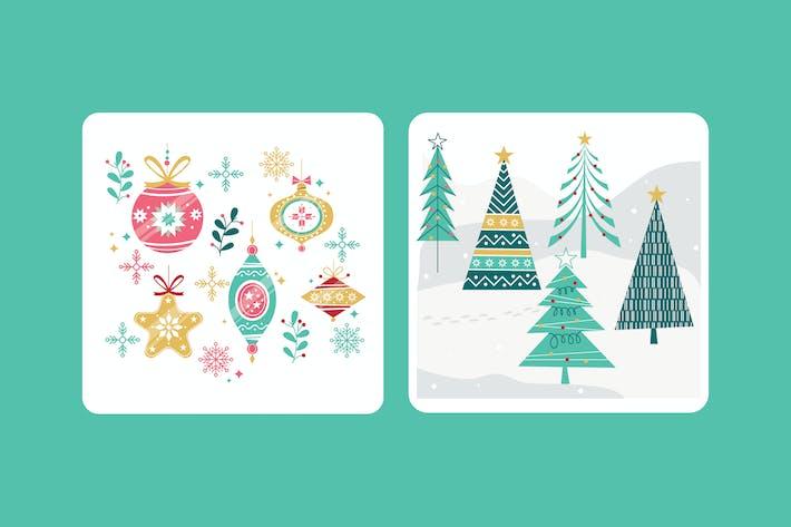 Thumbnail for Weihnachtskugel & Weihnachtsbaum-Grafiken