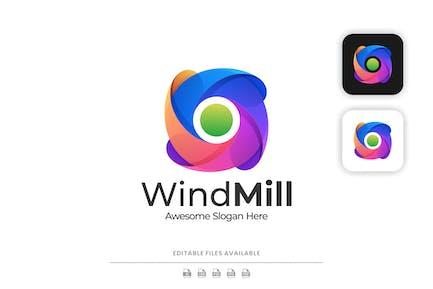 Windmill Colorful Logo