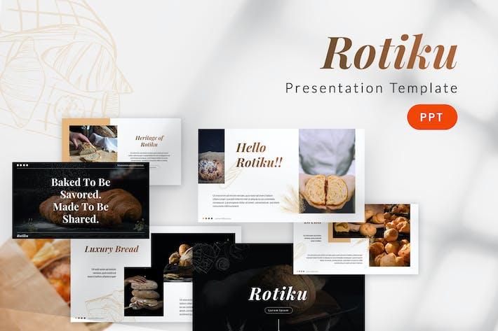 Thumbnail for Rotiku - Bakery Powerpoint Template