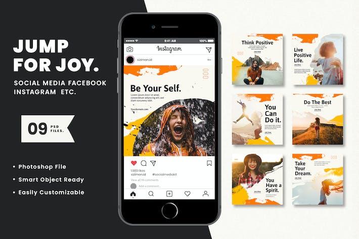 Thumbnail for Jump for joy Social Media Kit