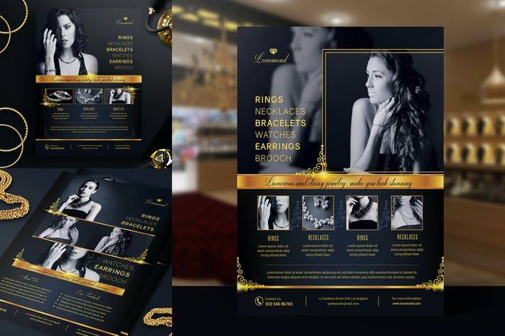 Thumbnail for Luxury/Jewelry Store Flyer