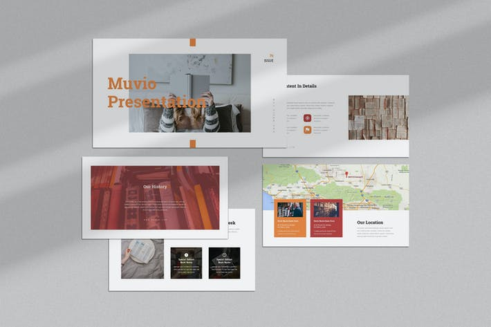 Thumbnail for Muvio: Книга Google Слайды