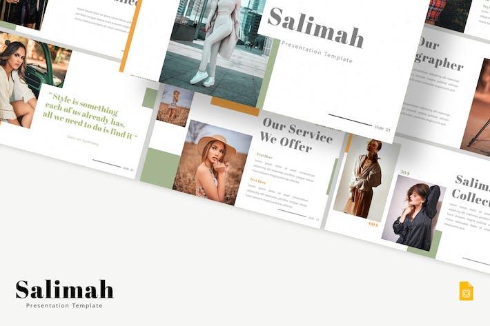 Thumbnail for Salimah - Google Slides Template