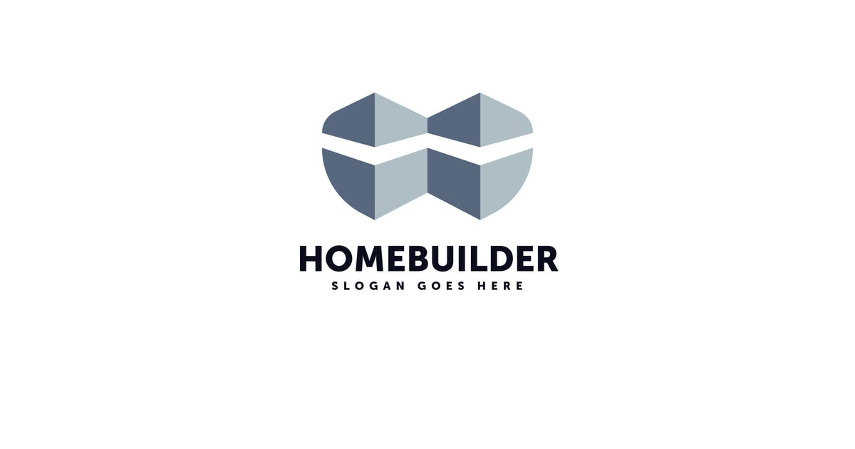 Download Home Builder Logo Vector Template by Pixasquare