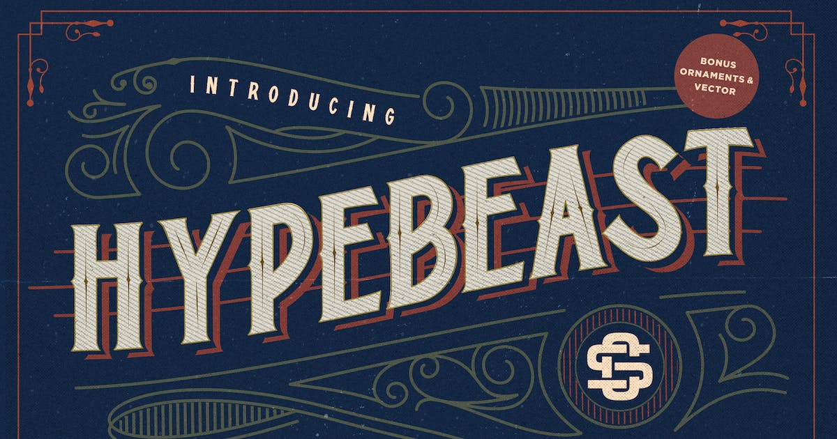 Download Hypebeast - Layered & Vintage Font by RahardiCreative