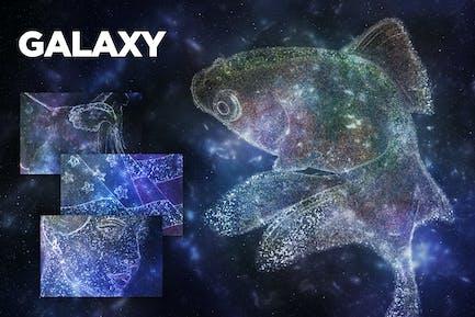 Galaxy Photoshop Action CS3+