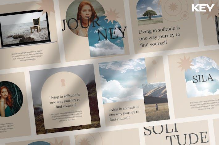 SILA - Stylish Instagram Keynote