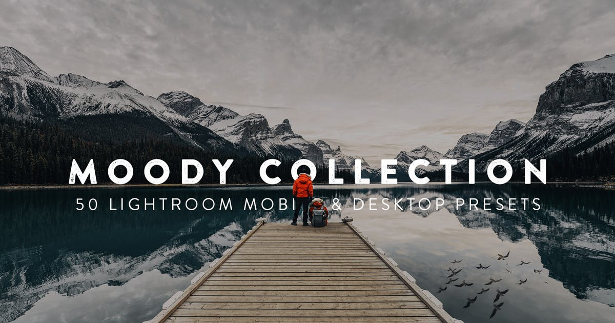 Download 50 Moody Lightroom Presets and LUTs by sparklestock