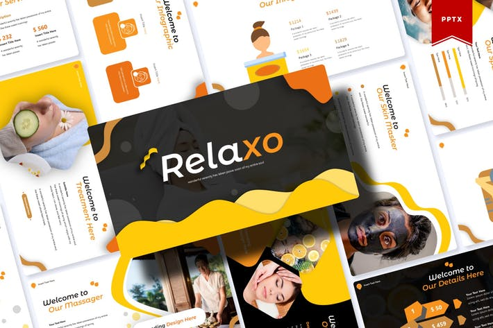 Thumbnail for Relaxo | Powerpoint-Vorlage
