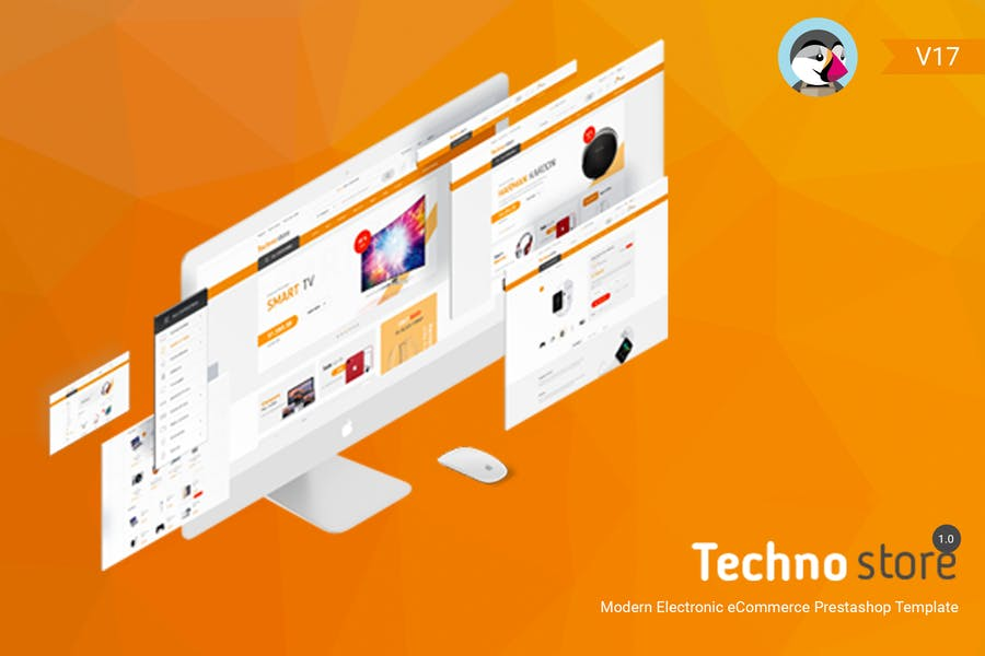 Technostore Responsive Prestashop 1.7 Theme
