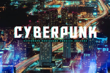 CityScape CyberPunk Photoshop Actions