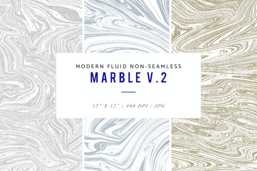 Modern Fluid Non-Seamless Marble V.2 Patterns