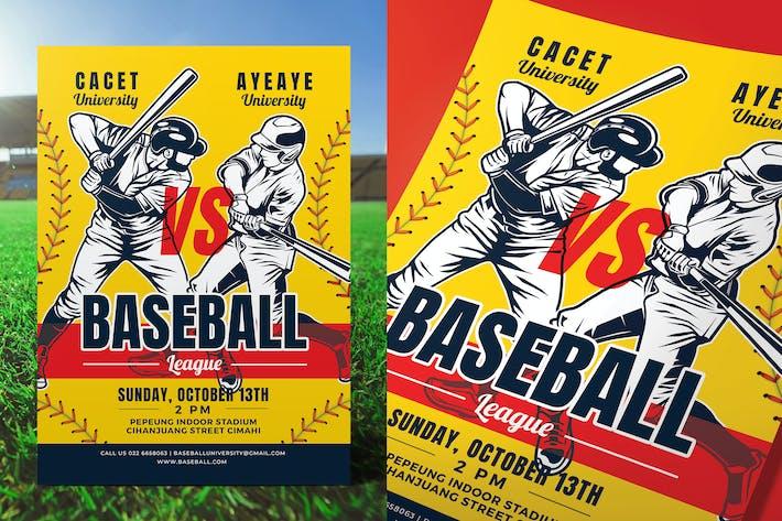 Thumbnail for Baseball Game Flyer