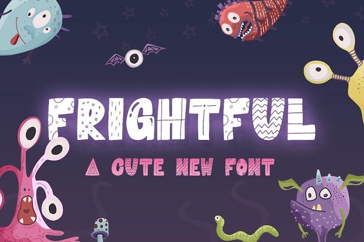 Thumbnail for Frightful Font