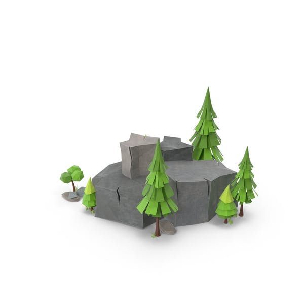 Thumbnail for Low-Poly-Wald