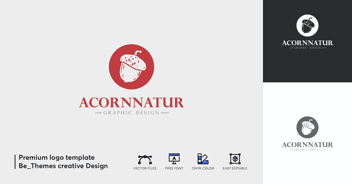 Download Acorn Natur Logo by Be_Themes