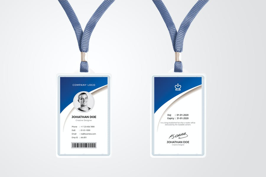 ID Card Template 07