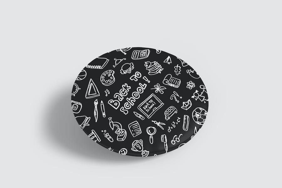 Pin Badge Mockup Vol 1.4