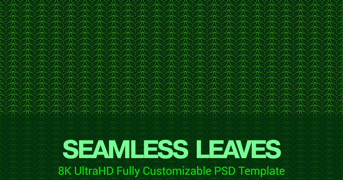 Download 8K UltraHD Seamless Leaves Pattern Background by SinCabeza