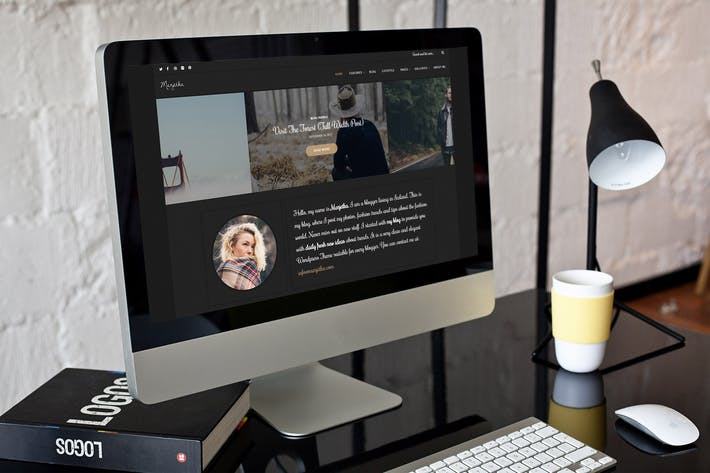 Thumbnail for Marjetka - A Feminine WordPress Blog Theme