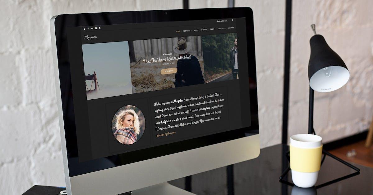Download Marjetka - A Feminine WordPress Blog Theme by gljivec