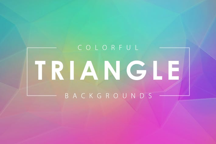 Thumbnail for Colorful Triangle Backgrounds