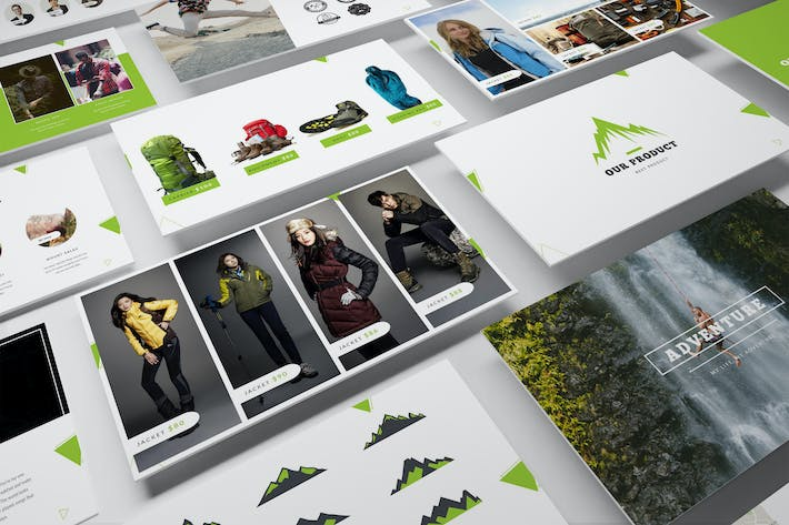 Thumbnail for Adventure Shop Keynote Template