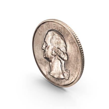 US-Vierteldollar im Alter