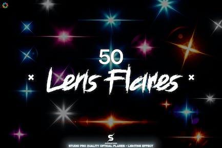 Optical Flares - 50 Lens Flares Lighting Effects