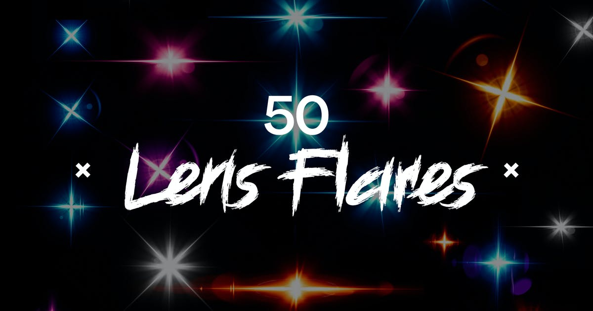 Download Optical Flares - 50 Lens Flares Lighting Effects by SupremeTones