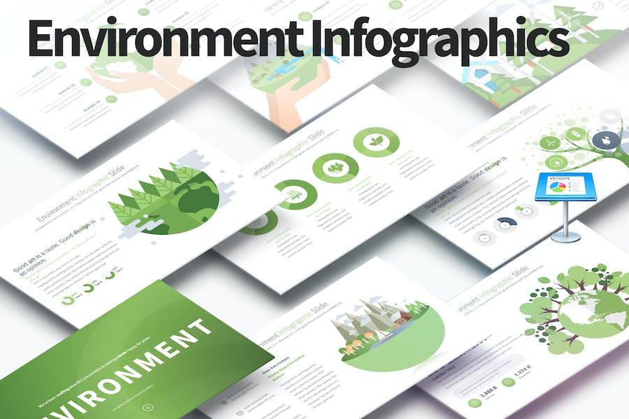 Environment - Keynote Infographics Slides