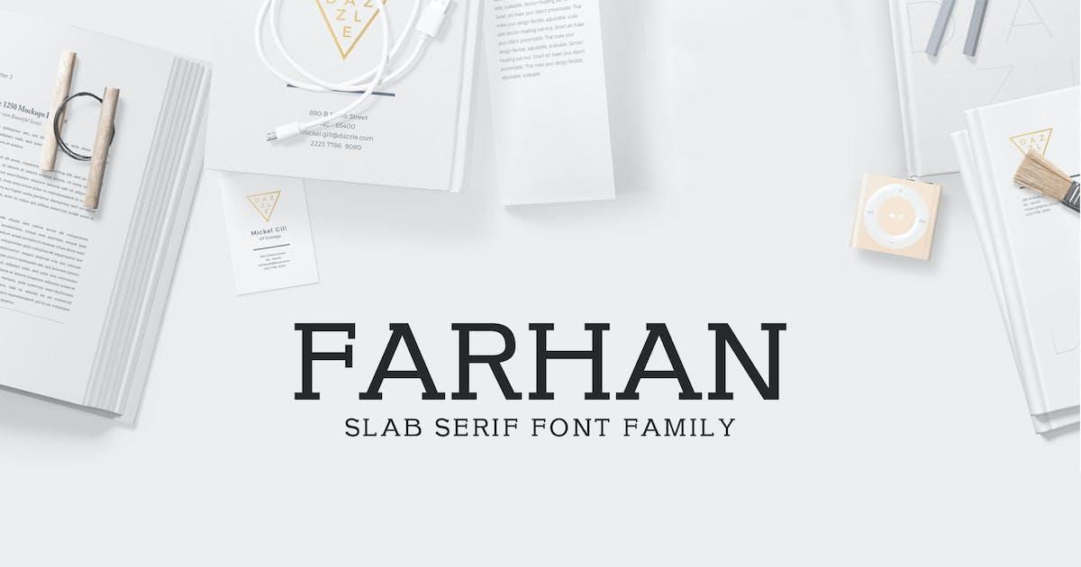 Download Farhan Slab Serif 5 Font Pack by creativetacos