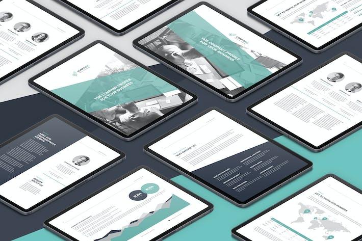 Thumbnail for CorpoBiz – eBook Company Profile Bundle 2 in 1