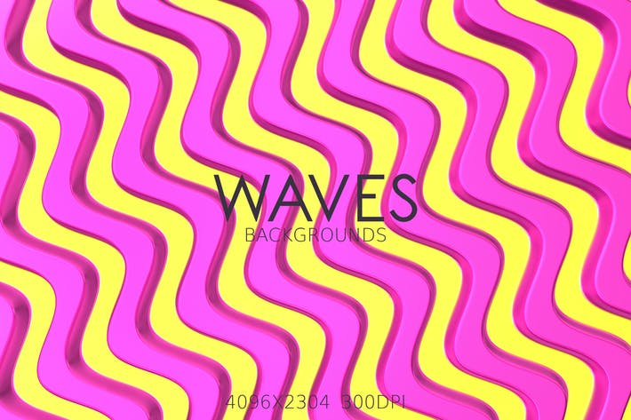 Thumbnail for Colorful Waves Backgrounds