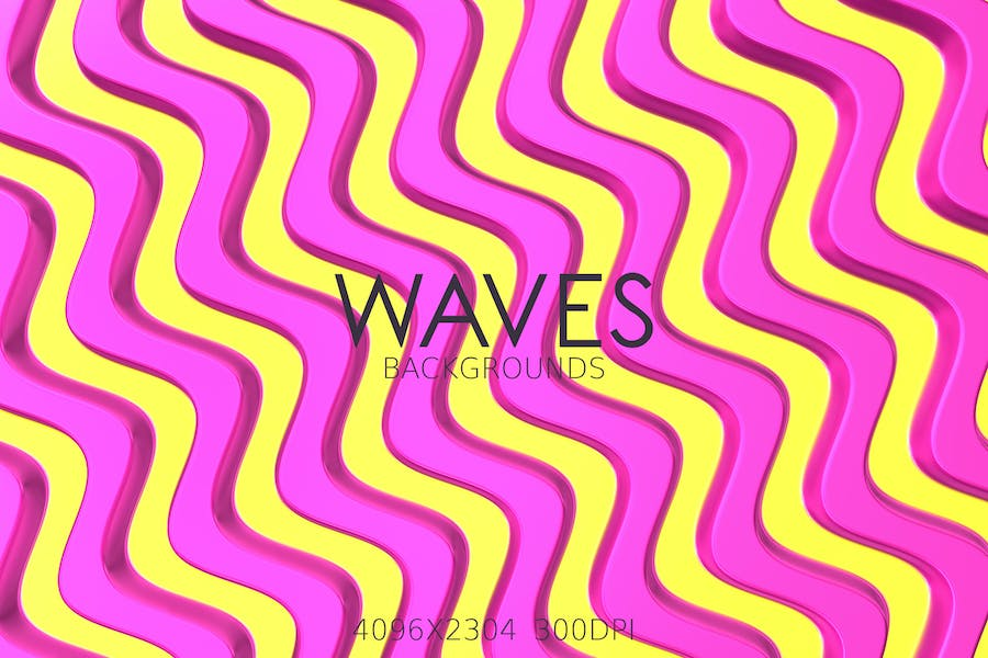 Colorful Waves Backgrounds