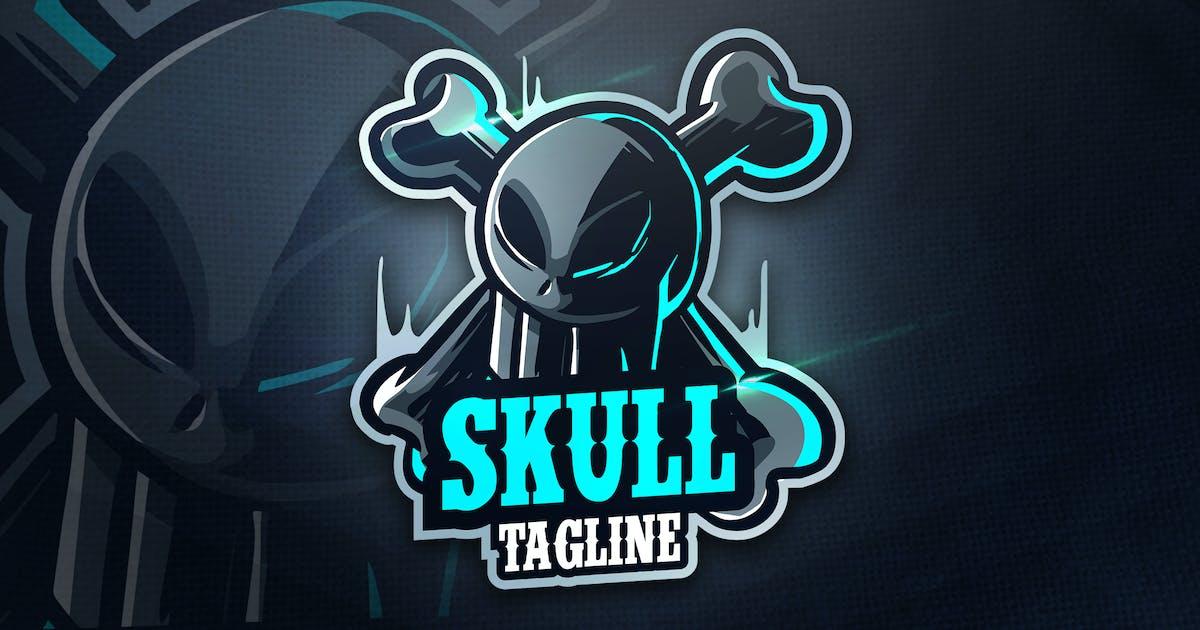 Download SKULL TEAM - Mascot & Esport Logo by aqrstudio