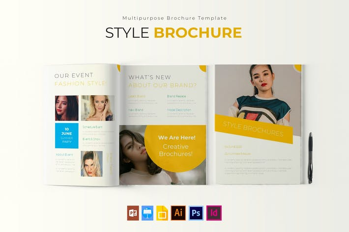 Thumbnail for Style   Brochure Template