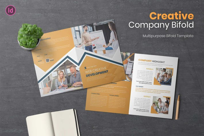 Thumbnail for Creative Development Brochure Bifold