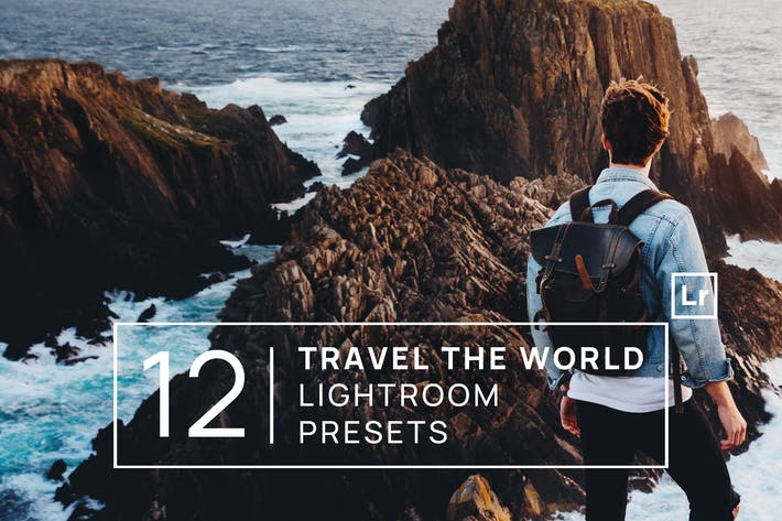 Thumbnail for 12 Travel the World Lightroom Presets