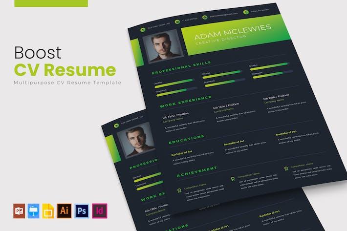 Thumbnail for Boost | CV & Resume