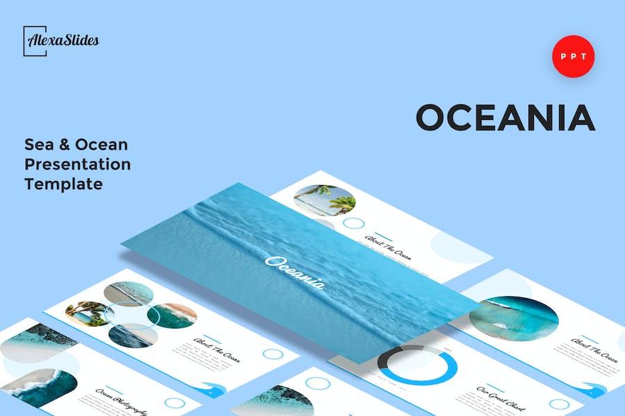 Oceania - Sea & Ocean Powerpoint Template