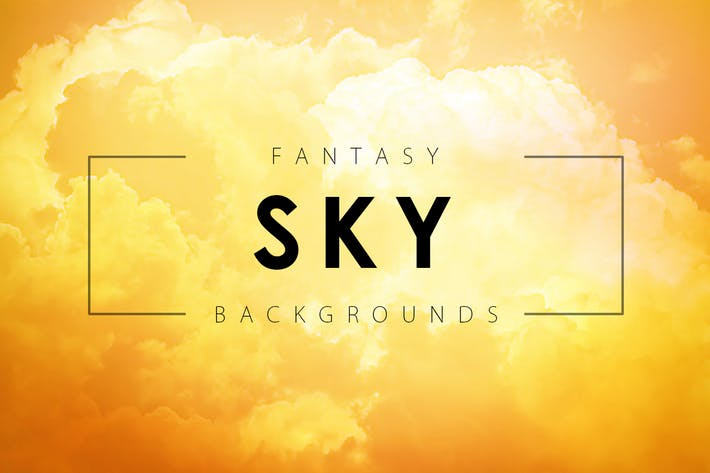 Thumbnail for Fantasy Sky Backgrounds