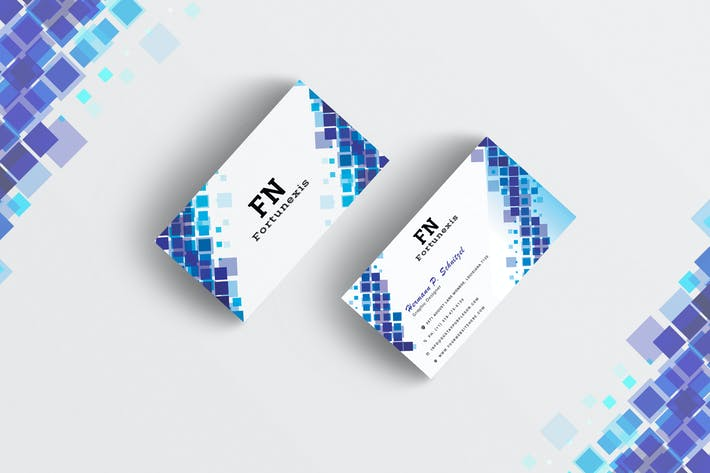 Thumbnail for Abstract Business Card Template-03