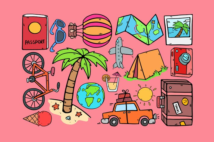 Cover Image For Travel Symbols