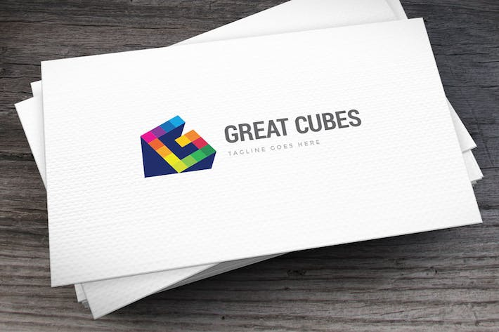 Thumbnail for Great Cubes Letter G Logo Template
