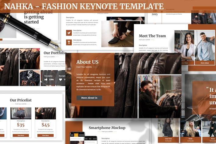 Thumbnail for Nahka - Fashion Keynote Template